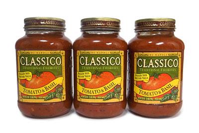 クラシコ パスタソース トマト&バジル