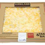 カークランド テイクベイク四角ピザ 5色チーズ