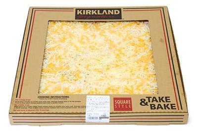 Ks square pizza 5cheese