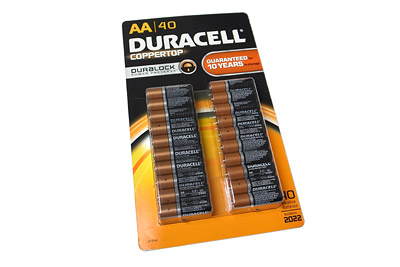 デュラセル アルカリ乾電池単三 40本入