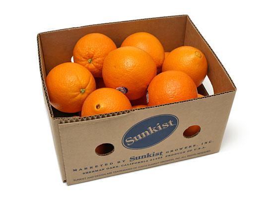 サンキスト ネーブルオレンジ 箱詰め