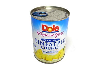 ドール パイナップル チャンクス 1缶