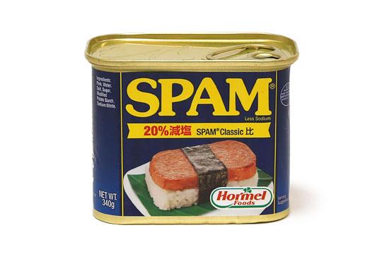 減塩スパム(スパムレスソルト)1缶