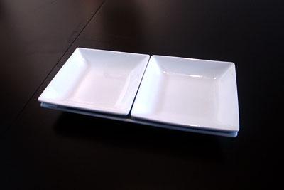長方形中皿×小正方形2枚