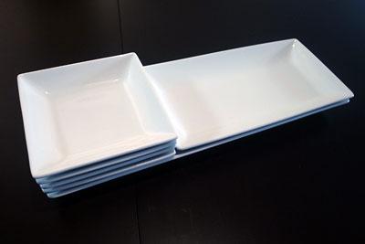 長方形のお皿