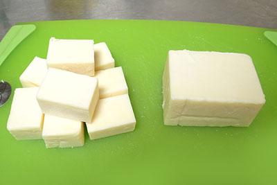 コストコのチーズ切り分け方5
