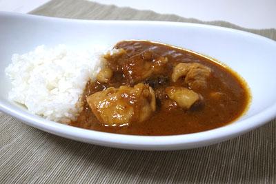 印度の味 カレーペースト 中辛で作ったカレー