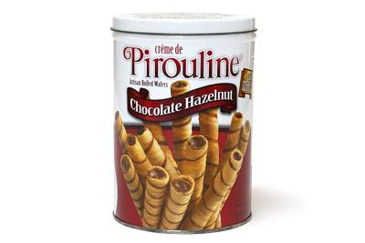 ピロリン チョコレートウエハース菓子