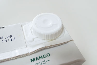 セレスジュース マンゴー 蓋
