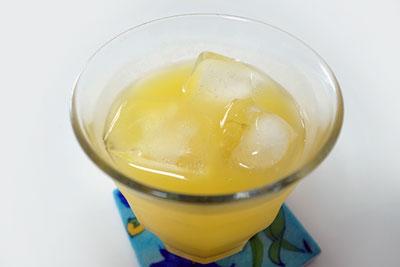 セレスジュース マンゴー グラス