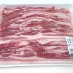 国産豚肉バラうすぎり
