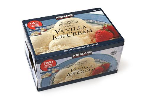 スーパープレミアム バニラアイスクリーム