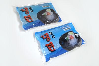 韓国冷麺一人前中身