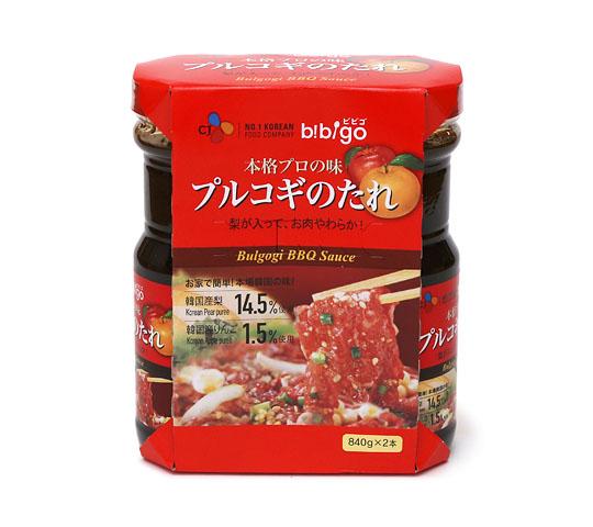 プルコギのタレ(韓国風焼肉のタレ)