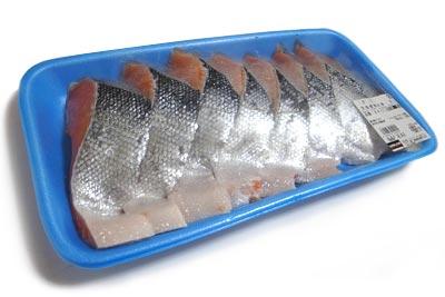 定塩銀鮭切身・甘口