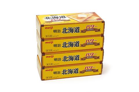 明治北海道バター 4個パック