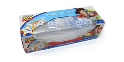 トイ・ストーリー サンドイッチバッグ