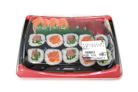 まぐろとサーモン寿司