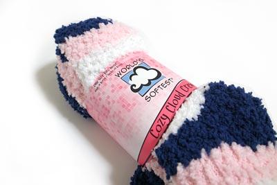 もこもこ靴下 Cozy Cloud Sock