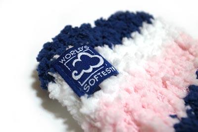もこもこ靴下 Cozy Cloud Sock タグ