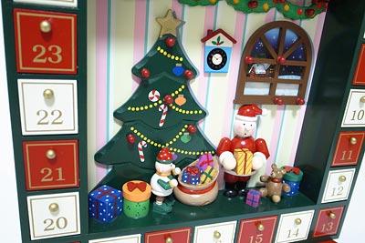 クリスマス用 アドベントカレンダー アップ