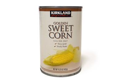 カークランド スイートコーン缶