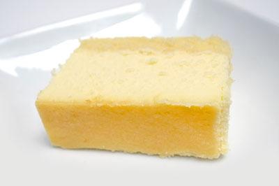 スフレチーズケーキの切り分け方