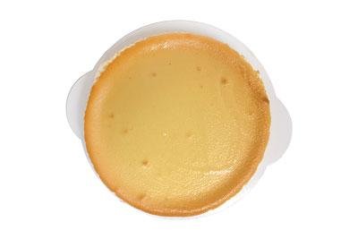 スフレチーズケーキの切り分け方 カット前