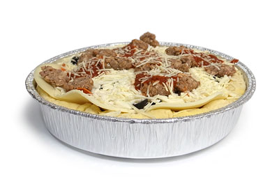 ディープディッシュピザ ミートコンボ 開封
