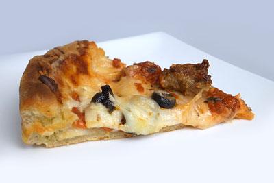 ディープディッシュピザ ミートコンボ 1カット