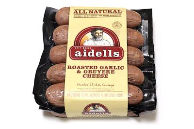 アイデル チキンソーセージ ローストガーリック&グリュイエールチーズ