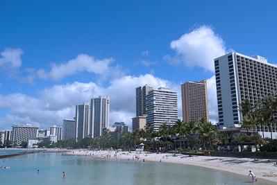 コス子 in ハワイ