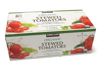 カークランド オーガニックシチュードトマト
