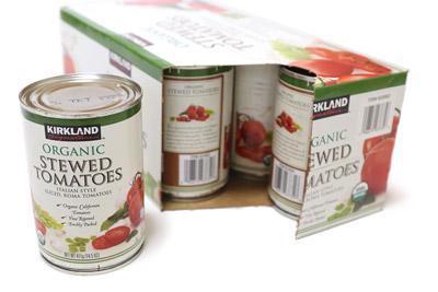 カークランド オーガニックシチュードトマト 取り出し口
