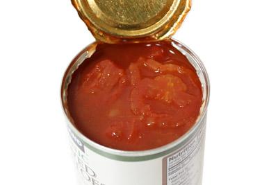 カークランド オーガニックシチュードトマト 開封