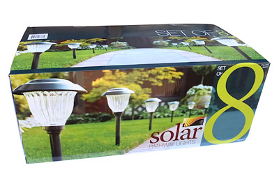solar8 LEDソーラーライト