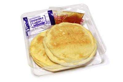 リコッタチーズパンケーキ 開封