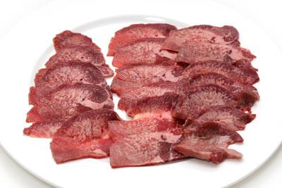USAビーフ カワムキ タン(牛たん)スライス
