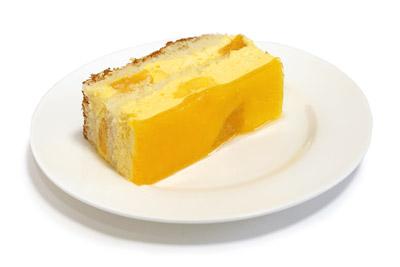 マンゴームースケーキ カット