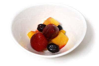 冷凍ミックスフルーツ 解凍