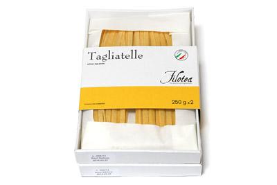 タリアテッレ 卵麺のパスタ(Filotea artisan egg pasta tagliatelle)