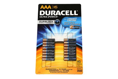 デュラセル ウルトラアルカリ単4電池 16本パック