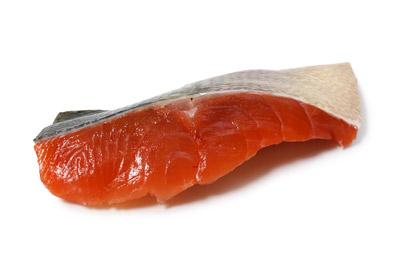 天然生秋鮭 切身