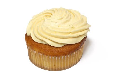 安納芋のカップケーキ