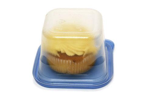 ケーキを綺麗に冷凍保存する方法 ジップロック