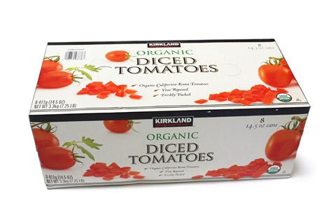 オーガニック ダイストマト