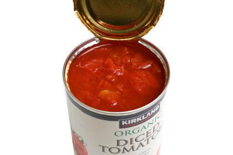オーガニック ダイストマト 開封