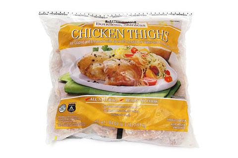 冷凍鶏もも肉 CHICKEN THIGHS