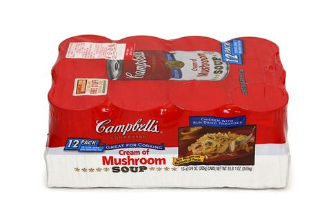 キャンベル マッシュルームスープ