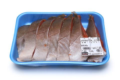 天然紅鮭定塩切身・甘口